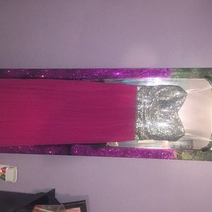 B.Darlin ankle length gown size 3